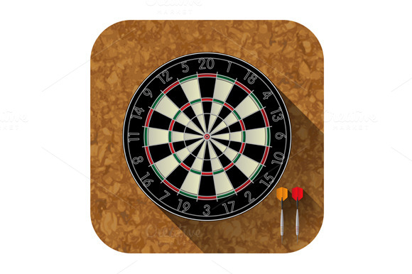 Dart Board App Icon