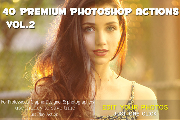 40 Premium Photoshop Actions VoL.2