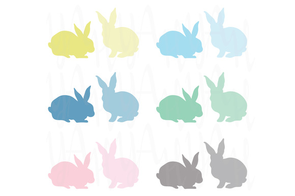 Bunny Silhouette