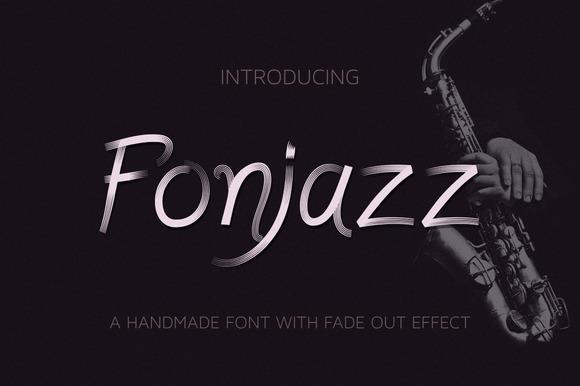 Fonjazz Typeface