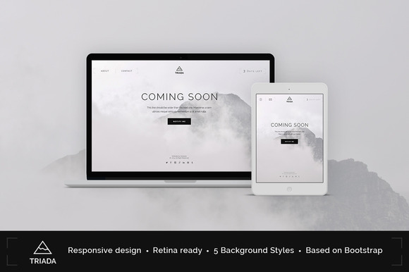 Triada Coming Soon WP Plugin