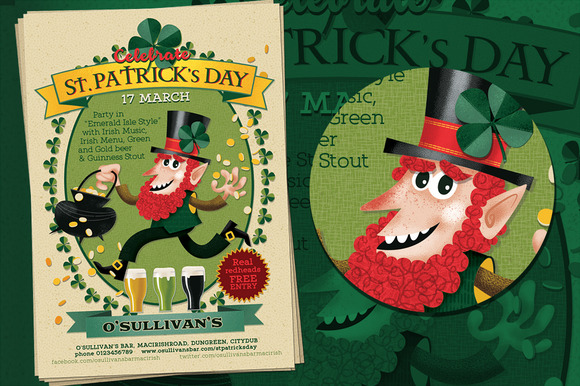 Ireland Night St.Patrick S Day