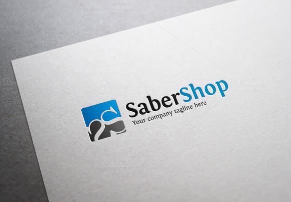 Saber Shop Logo