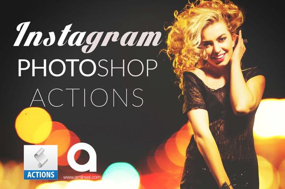 25 Instagram Photoshop Actions
