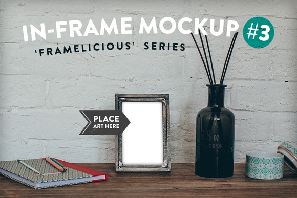 Framelicious In-Frame Mockup #3