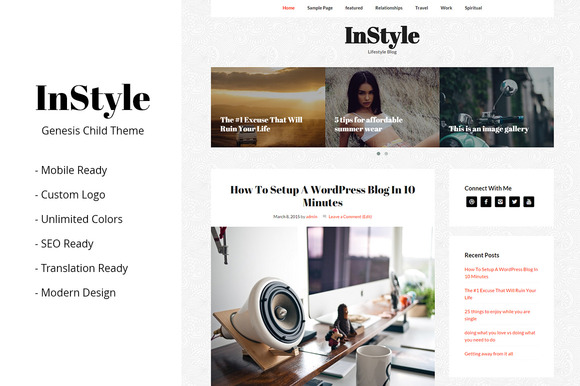 InStyle Genesis Child Theme