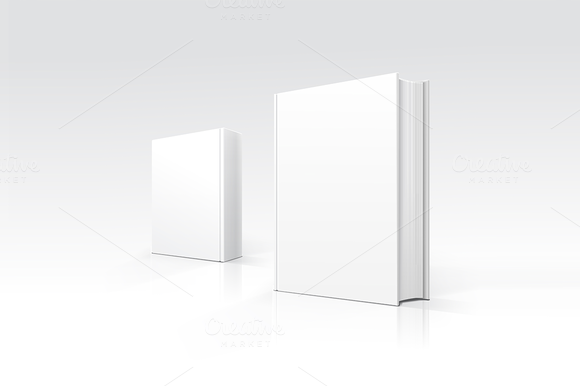 Vector Blank Books