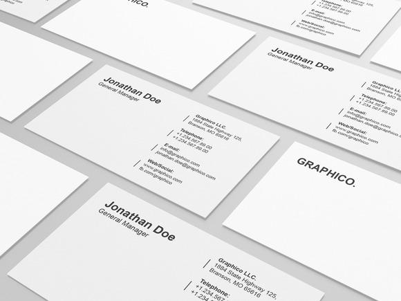 Simple Corporate Business Card 16