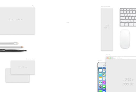 Brand Design Mockup PSD-Template