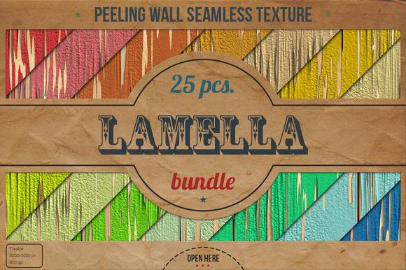 25 Peeling Wall HD Textures Bundle
