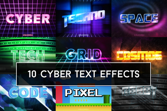 Cyber Text Effects