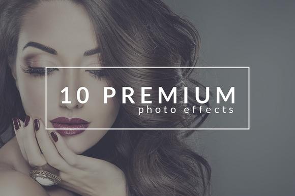 10 Premium Photo Effects