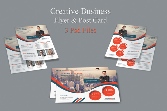 Creative Business Flyer Post Card