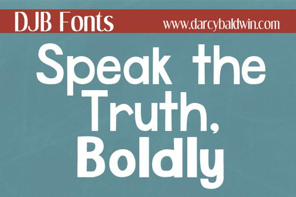 DJB Speak The Truth Boldly
