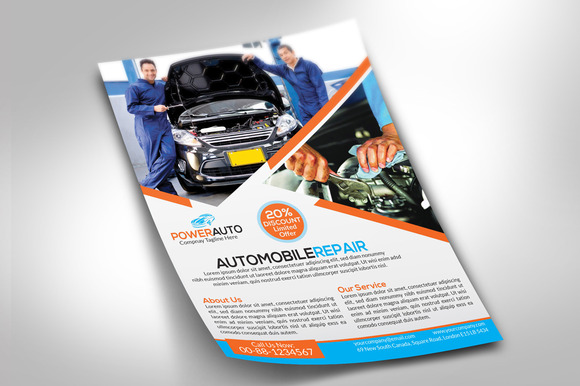 Automobile Repair Flyer