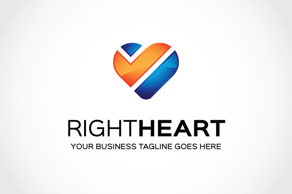Right Heart Logo Template