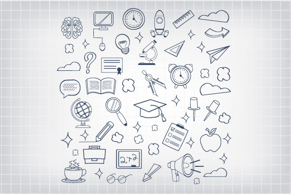 Vector Education Icon Set