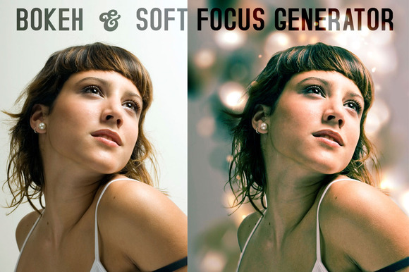 Bokeh Soft Focus Generator Actions