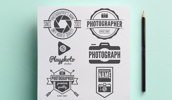 Collection Of Photographer Logo Vol2