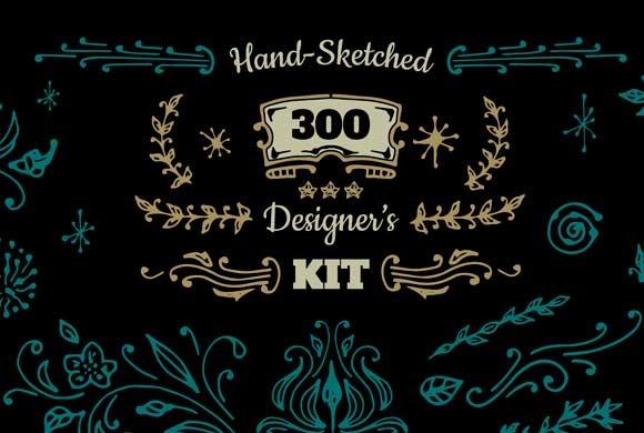 Designer S Hand-sketched Kit