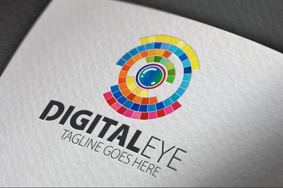 Digital Eye Logo