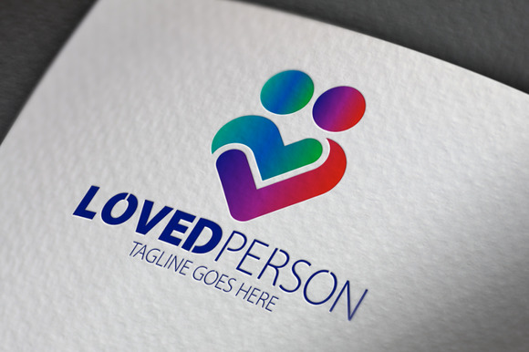 Loved Person Logo