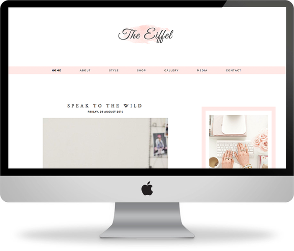 The Eiffel Blogger Template