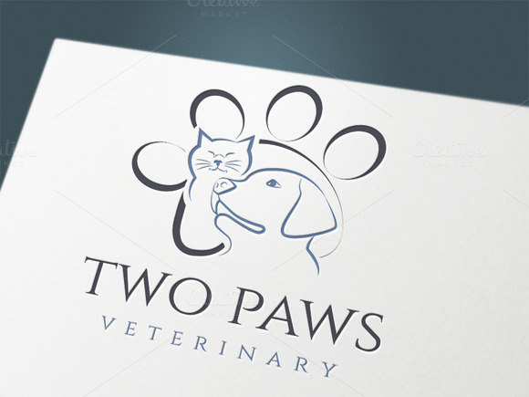 Logo Two Paws