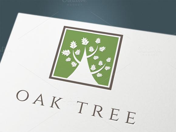 Set Logo Oak Company