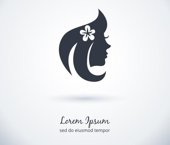 Beautiful Woman Logo