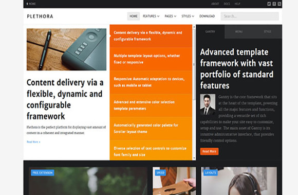 RT Plethora Joomla Template