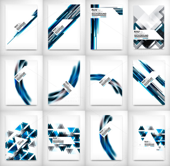 12 Flyer Designs Set 1