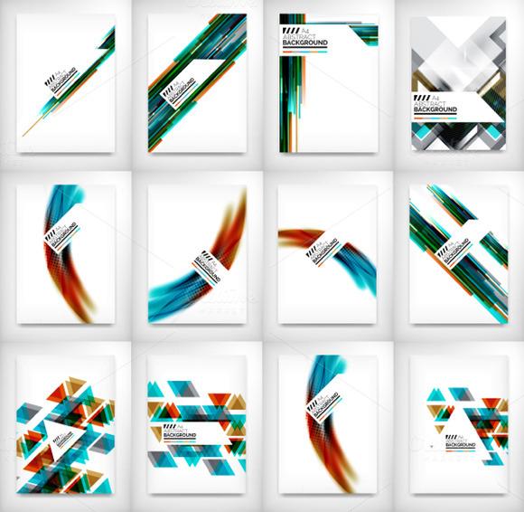 12 Flyer Designs Set 2
