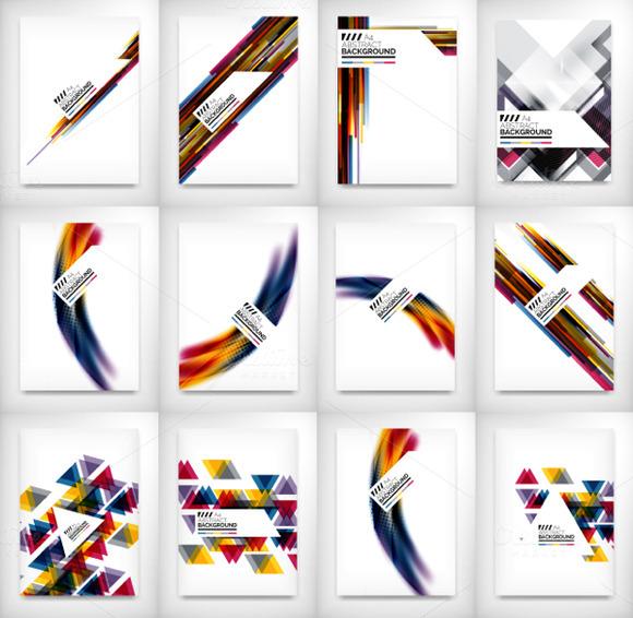 12 Flyer Designs Set 4