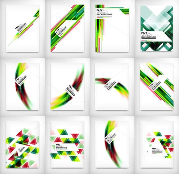 12 Flyer Designs Set 5