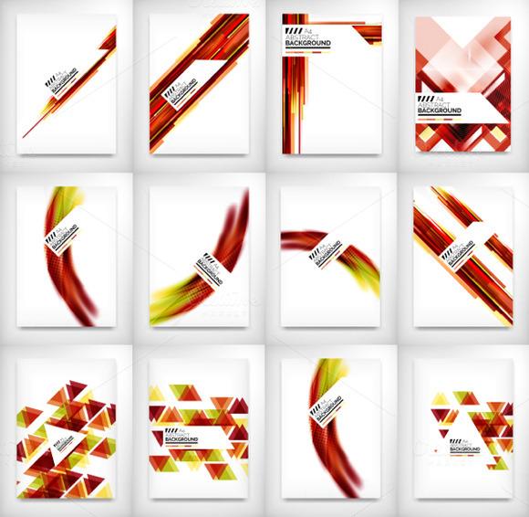 12 Flyer Designs Set 6
