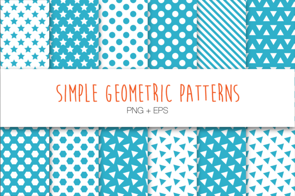 12 Simple Geometric Patterns