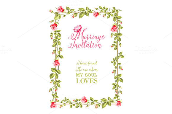 Marriage Invitation Greeting