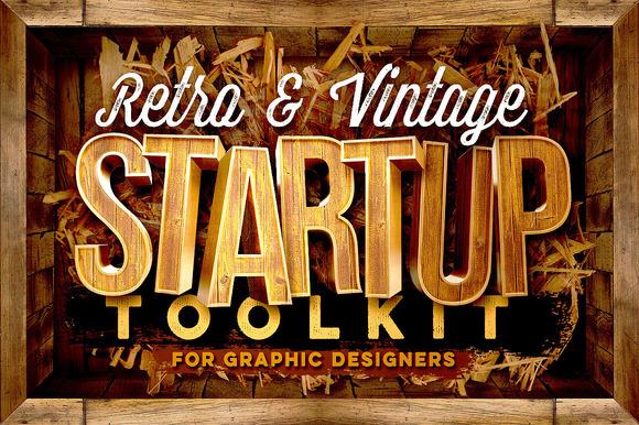 Retro Vintage Startup Toolkit