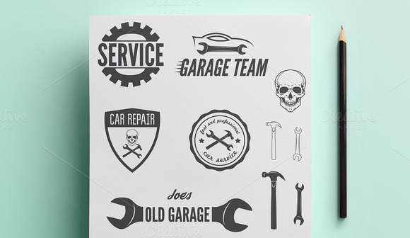 Collection Of Auto Service Logo Vol1