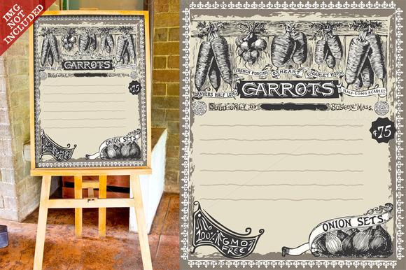 Vintage Carrots Advertising