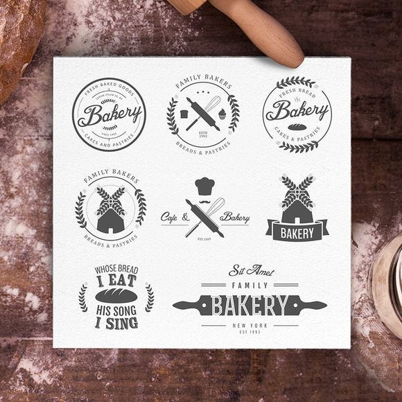 Bakery Logos Bundle