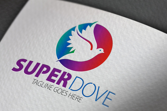 Super Dove Logo