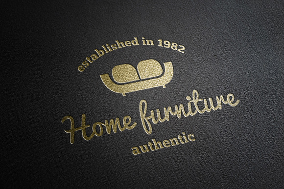 Collection Of Furniture Shop Logo