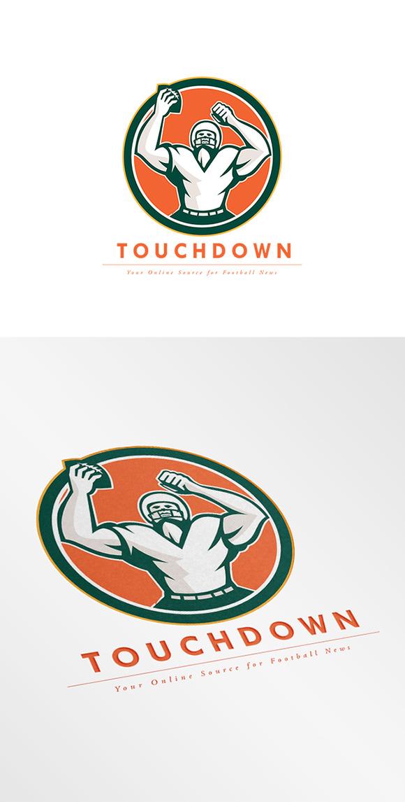 Touchdown Football News Agency Logo
