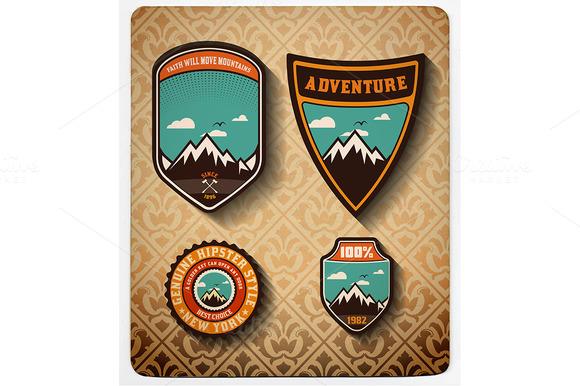 Adventure Badge Set