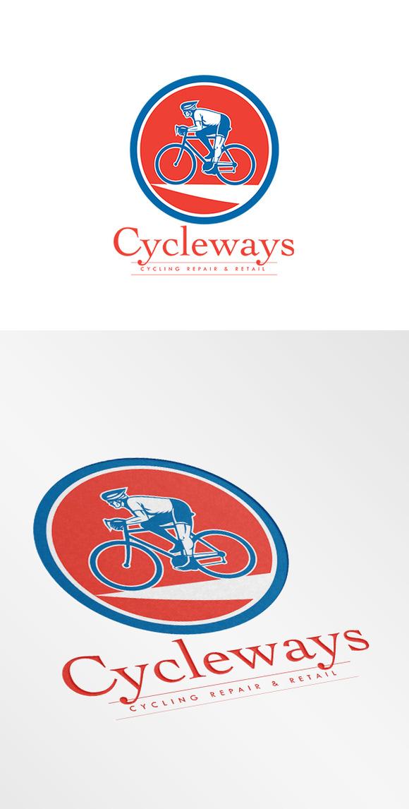 Cycleways Cycling Repairs Logo