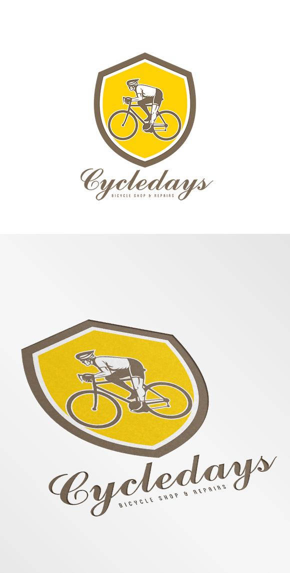 Cycledays Bicycle Shop Logo