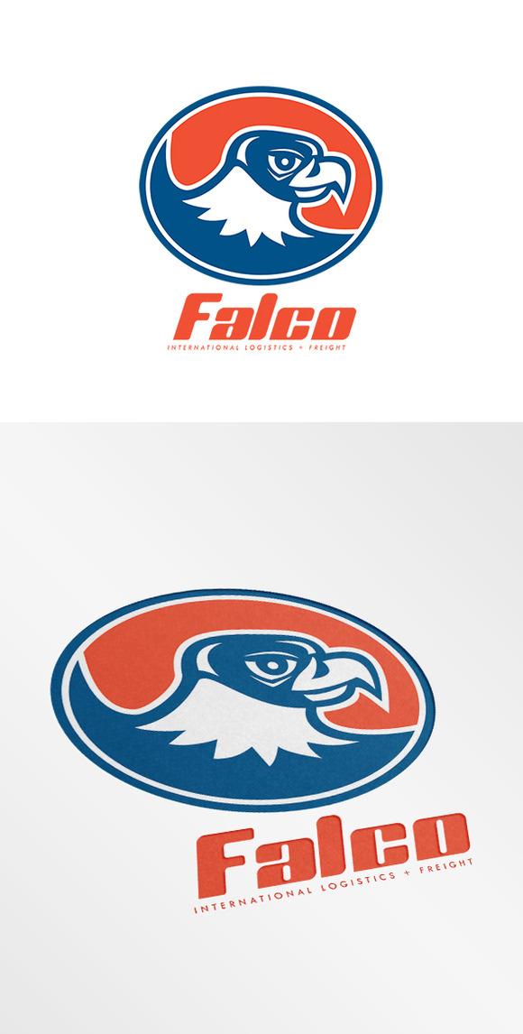 Falco International Logistics Logo
