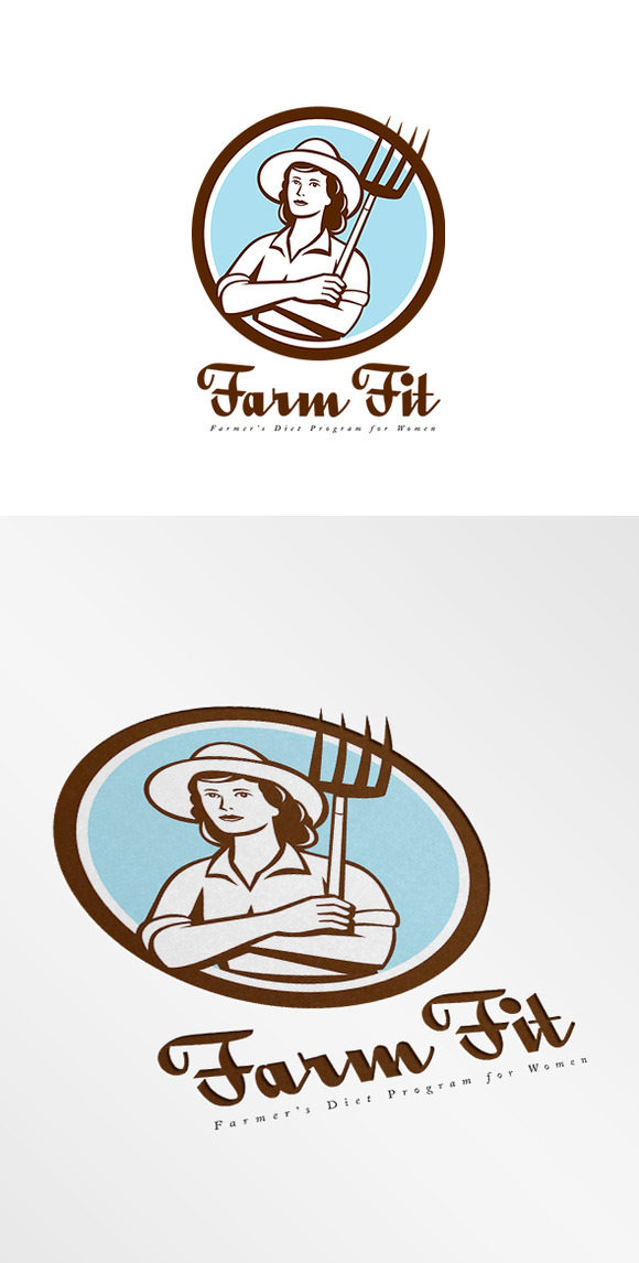 Farm Fit Women S Diet Program Logo
